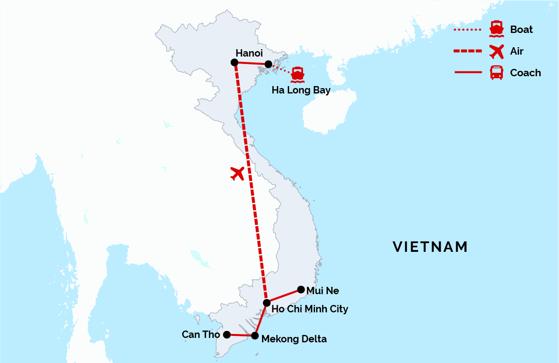 Highlights of North and South Vietnam | Blue Ocean Tours